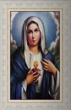 Quadro Religioso Sagrado Coração de Maria - Mod. 2