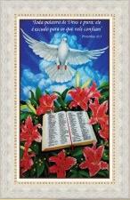 Quadro Religioso Texto Bíblico - Mod. 3