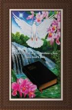 Quadro Religioso Texto Bíblico - Mod. 4