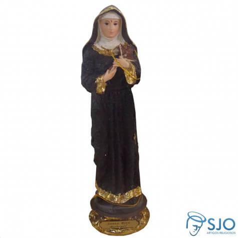 Imagem de Resina Santa Rita de Cassia Dourada - Mod. 2 - 40 cm