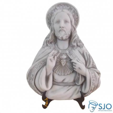 Imagem de Mesa/Parede Sagrado Coração de Jesus Parede em Mármore