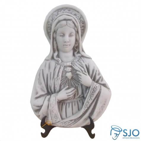 Imagem de Mesa/Parede Sagrado Coração de Maria em Mármore