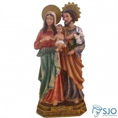Imagem de Resina Sagrada Família - 22 cm