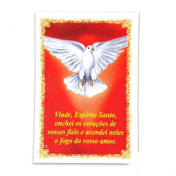 Santinhos de Oração Divino Espirito Santo