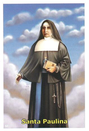 Santinhos de Oração Madre Paulina