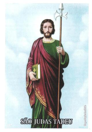 Santinhos de Oração São Judas Tadeu