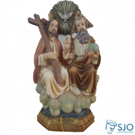 Imagem de Resina Santíssima Trindade - 30 cm