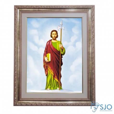 Quadro - São Judas Tadeu - 52 cm x 42 cm
