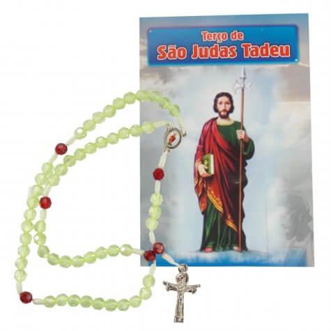 Terço com folheto São Judas Tadeu