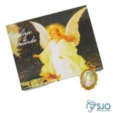 Imagem - 50 Cartões com Medalha do Anjo da Guarda cód: 16779461