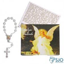 50 Cartões com Mini Terço do Anjo da Guarda