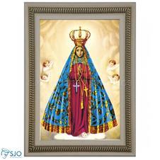 Imagem - Quadro Religioso Nossa Senhora Aparecida - 70 x 50 cm - Mod. 2 cód: 11874164