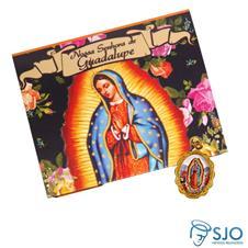 Imagem - Cartão com Medalha da Nossa Senhora de Guadalupe cód: 19371124