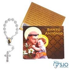 Imagem - Cartão com Mini Terço de Santo Antônio - 15929123