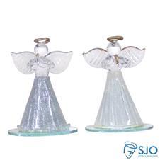 Imagem - Anjo de Cristal Pequeno - 5,5 cm cód: 17236947
