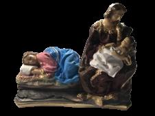 Imagem - Imagem de Gesso Deixa a Mãe Descansar - 16 cm cód: IGDMD