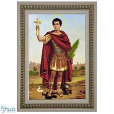 Imagem - Quadro Religioso Santo Expedito - 70 x 50 cm cód: 16847902