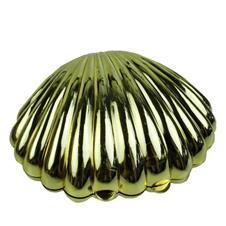 Concha Plástica Dourada