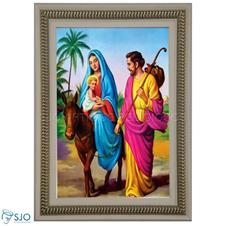 Imagem - Quadro Religioso Nossa Senhora do Desterro - 70 x 50 cm - 15430280