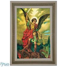 Quadro Religioso São Miguel Arcanjo