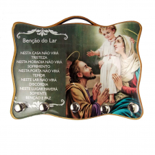 Imagem - Porta Chave - Sagrada Família 02 cód: 13777988