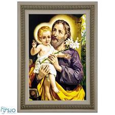 Imagem - Quadro Religioso São José - 70 x 50 cm - 17694102