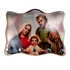 Imagem - Porta Chave - Sagrada Família 03 cód: 12651515