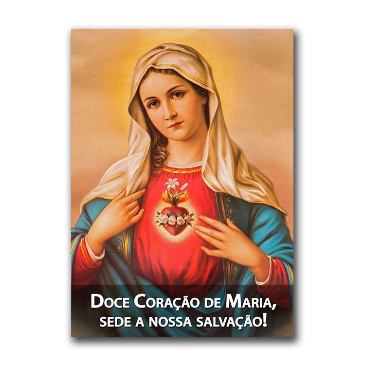 Imagem - Adesivo - Doce Coração de Maria cód: 12573047