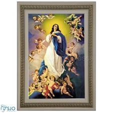 Imagem - Quadro Religioso Nossa Senhora da Imaculada Conceição - 70 x 50 cm cód: 15235705
