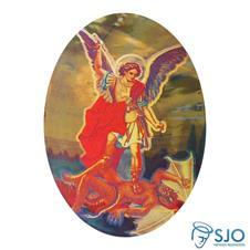 Adesivo de São Miguel Arcanjo - Dupla Face