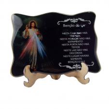 Imagem - Porta Retrato Jesus Misericordioso Grande cód: 10023195