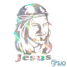 Imagem - Adesivo da Face de Cristo cód: 17944406-8