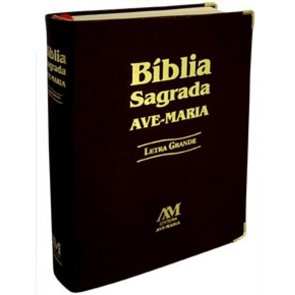 Imagem - Bíblia Letra Grande - Preta cód: 79054