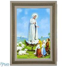Quadro Religioso Nossa Senhora de Fátima - 70 x 50 cm