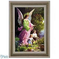 Quadro Religioso Santo Anjo do Senhor - 70 x 50 cm