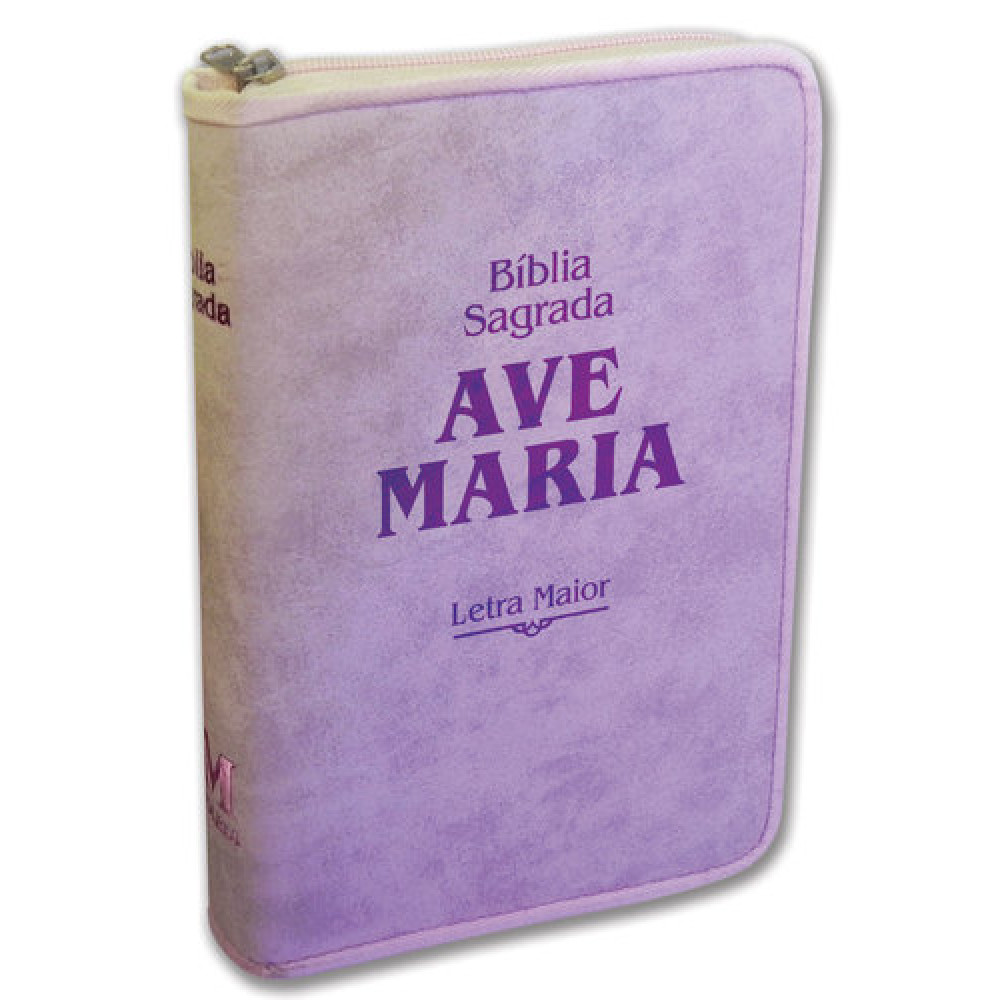 Imagem - Bíblia Letra Maior Zíper Strike - Rosa cód: 979051