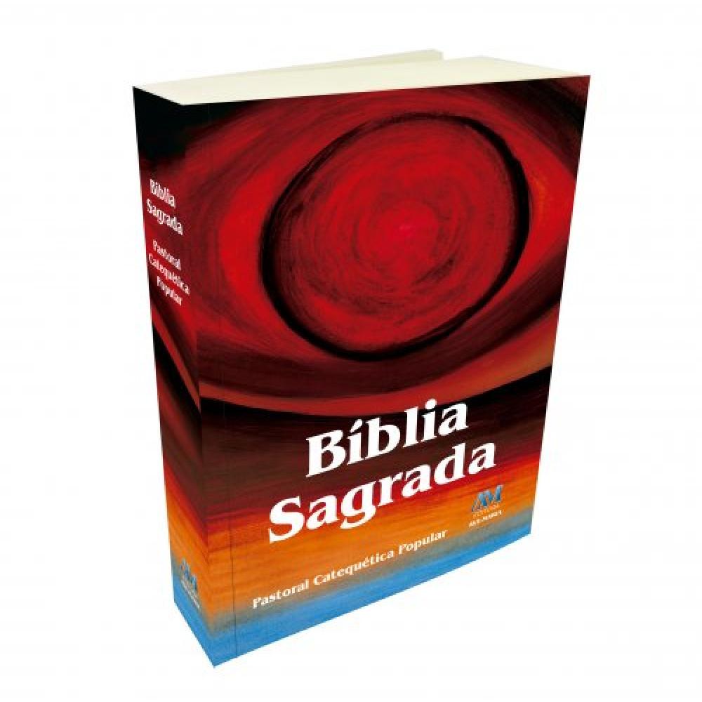 Imagem - Bíblia Sagrada Pastoral Catequética Popular - Médio cód: 9788527616096_1
