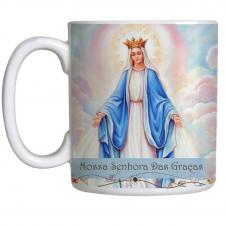 Imagem - Caneca Nossa Senhora das Graças com Oração cód: 12082106