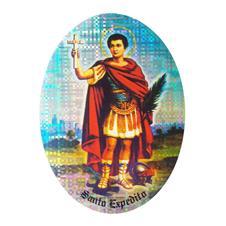 Imagem - Adesivo de Santo Expedito - Dupla Face cód: 19064669