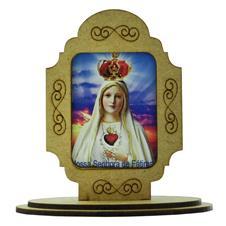 Adorno de Mesa Nossa Senhora de Fátima