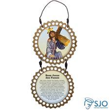Imagem - Adorno de Porta Redondo - Bom Jesus dos Passos cód: 11565448