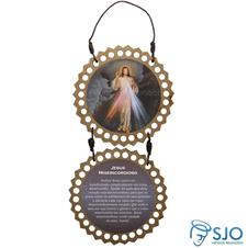 Imagem - Adorno de Porta Redondo - Jesus Misericordioso - 17298594