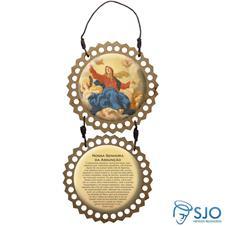 Imagem - Adorno de Porta Redondo - Nossa Senhora Assunção cód: 11144831
