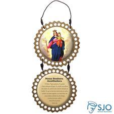 Adorno de Porta Redondo - Nossa Senhora Auxiliadora