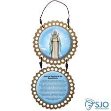 Imagem - Adorno de Porta Redondo - Nossa Senhora do Equilíbrio cód: 15597617