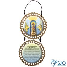 Imagem - Adorno de Porta Redondo - Nossa Senhora do Loreto cód: 16986344