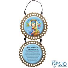 Imagem - Adorno de Porta Redondo - Nossa Senhora do Perpétuo Socorro - 18157311