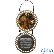 Imagem - Adorno de Porta Redondo - Santo Agostinho cód: 15701344