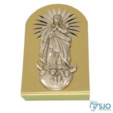Imagem - Adorno 6 x 4 de Nossa Senhora da Imaculada Conceição cód: 17772893