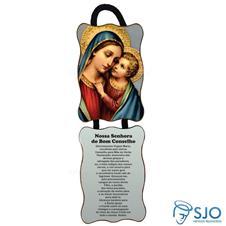 Imagem - Adorno de Porta Retangular - Nossa Senhora do Bom Conselho cód: 13298448